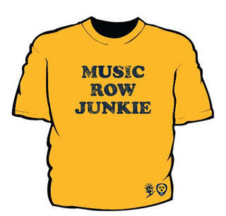 Music Row Junkie T-shirt