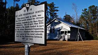 Why Do Old Places Matter Mt. Zion Rosenwald School Exterior