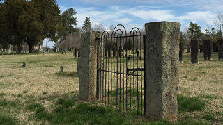 Why Do Old Places Matter Gate at Ramah Cemetery