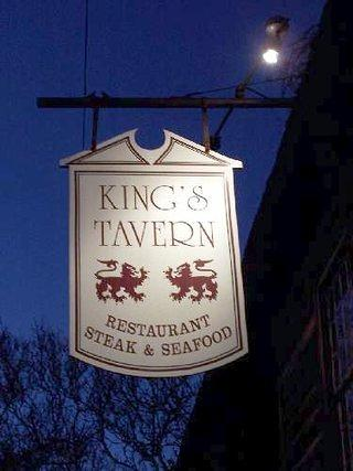 The sight outside King's Tavern Natchez
