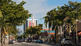 Highrises on Brickell Avenue, Little Havana