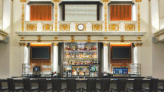 The New Lobby Bar Inside the Recently-Renovated Boston Park Plaza Hotel