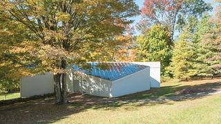 Overall Exterior, Sculpture Gallery, Philip Johnson's Glass House