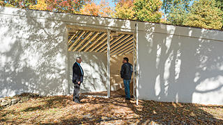 Greg Sages and Brendan Tobin, Sculpture Gallery, Philip Johnson's Glass House
