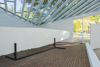 Interior Entry, Sculpture Gallery, Philip Johnson's Glass House