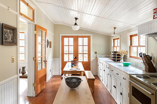 Kitchen in Andy Carpentier's home, photo by Kat Alves