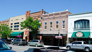 Photograph of historic downtown Montana