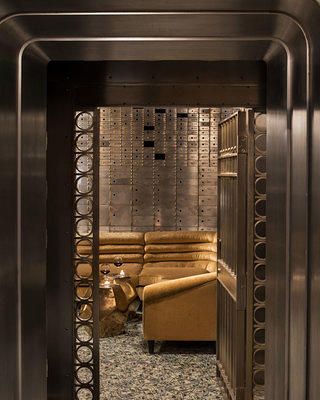 Hill Building Bank Vault Cocktail Lounge