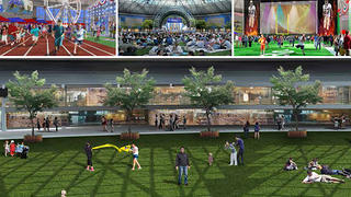 Harris County Astrodome Visioning Deck – Graphic Illustration 1