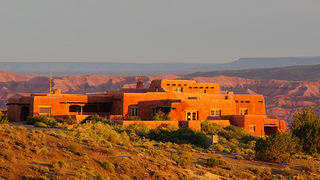 Exterior of Painted Desert Inn, Petrified Forest National Park