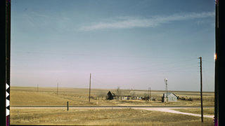 Photograph of a farm near Amarillo Texas
