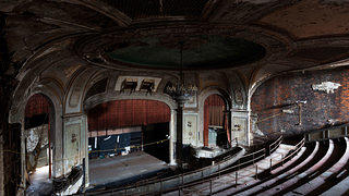 Embassy Theatre in Port Chester, New York