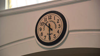Springfield Union Station Clock