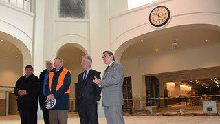 Unveiling of the Union Station Clock