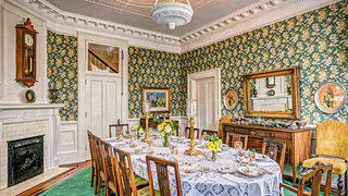 South Carolina Neoclassical dining room