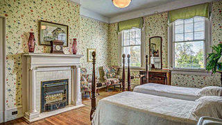 South Carolina Neoclassical 2nd floor bedroom