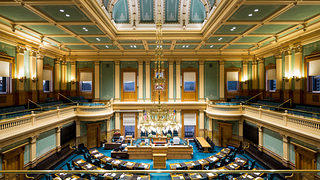 Colorado State Capitol House Chamber