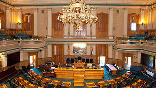 Colorado State Capitol House Chambers before renovation