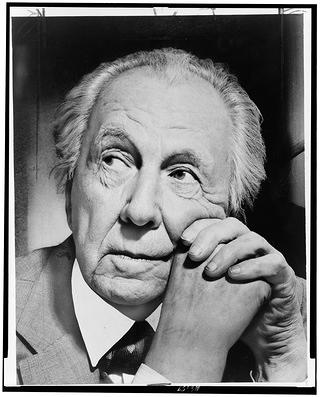 Portrait of Frank Lloyd Wright by Al Ravenna, New York World-Telegram and the Sun Newspaper Photograph Collection.