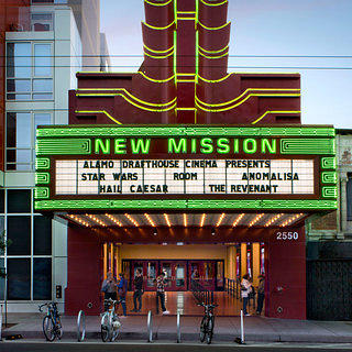 Art deco architect Timothy Pfleuger designed the theater's marquee and blade in the 1930s.