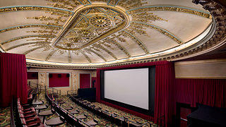 Alamo Cinema Drafthouse and the Architectural Resources Group overcame the challenges of preserving single-use structures by adapting the original theater's balconies into several smaller theaters.