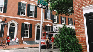 South 2nd Street, Society Hill, Philadelphia