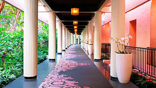 Breezeway at the Royal Hawaiian