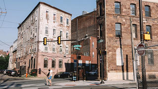 Hamilton Street and Ridge Avenue, Callowhill, Philadelphia