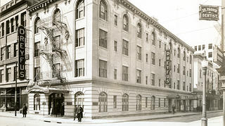 Undated photo of the Dreyfus Hotel