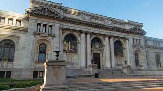 The Carnegie Library building in Washington, D.C.