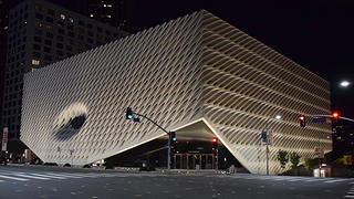 The Broad Museum in Los Angeles, California