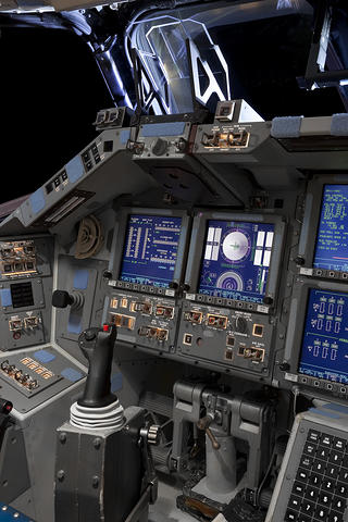 Commander's Console, Space Shuttle Endeavor