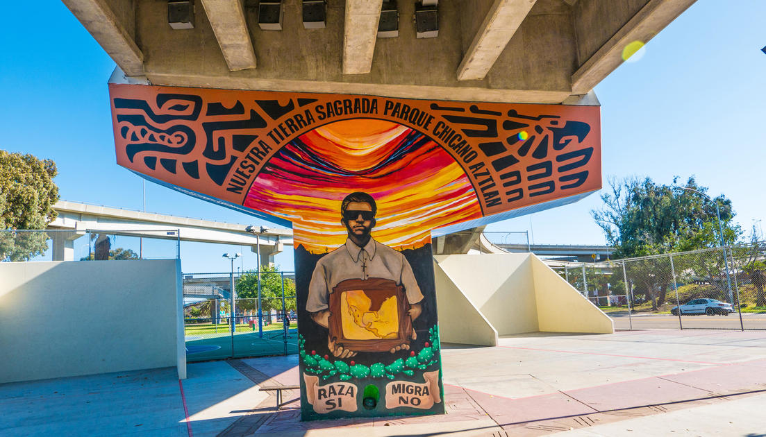 Explore the murals of san diego 39 s chicano park national for Chicano mural art