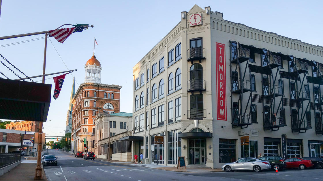 With Nod To Past Tomorrow Building Charts Chattanooga S
