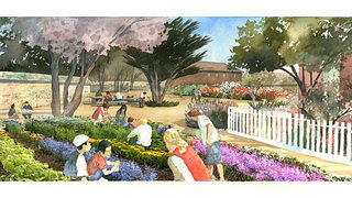 "The National Trust will continue educational programming, such as the ""Learning Garden."""