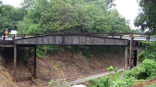 The Talbot Avenue Bridge in Silver Spring, Maryland