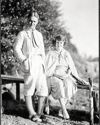 F. Scott and Zelda Fitzgerald at Dellwood.