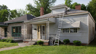 The childhood home of Muhammad Ali before being restored