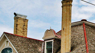 This roofline contains a number of details perfect for a visual scavenger hunt. Credit: Villa Finale