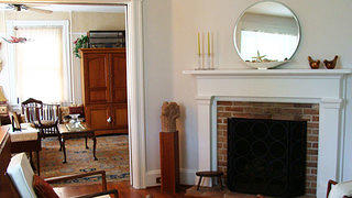Frederick Usilton House fireplace