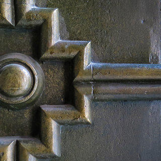 Bronze detail from Federal Hall