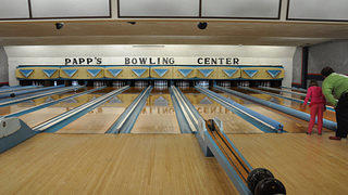 Papp's Bowling Center in Bordentown, New Jersey