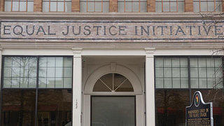 The Equal Justice Initiative building in Montgomery, Alabama