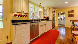 New Hampshire federal style home kitchen