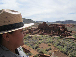 Cecilia Shields, Chief of Interpretation and Education for Flagstaff Area National Monuments, which includes Wupatki.
