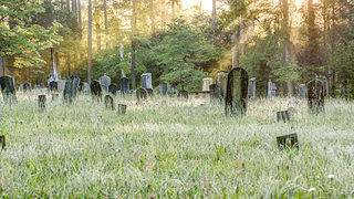 The historic cemetery at Bethel Presbyterian in Summerville.