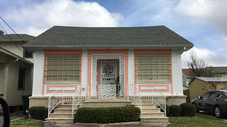 House in Broadmoore, New Orleans, by Jennifer Hance