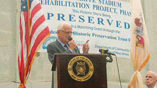 Speaker for the event U.S. Congressman Bill Pascrell (New Jersey's 9th district and former mayor of Paterson).