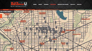 Online guide to historic places on and around U Street in the 20th century.