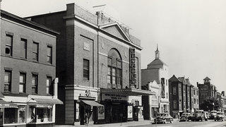 Historic photo of the Lincoln Theatre on U Street in Washington, D.C.